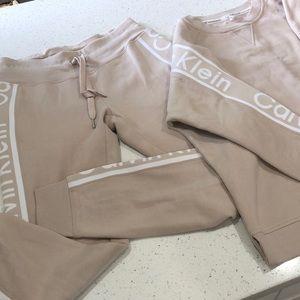 Calvin Klein jogging suit